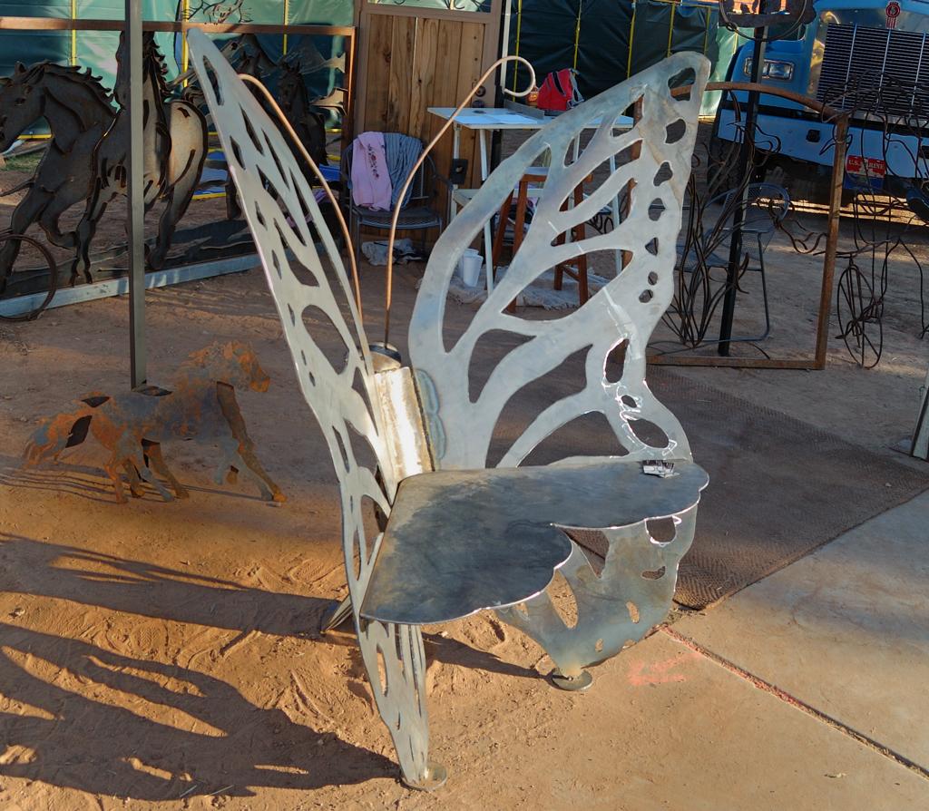Butterfly Bench Jbsmith Art